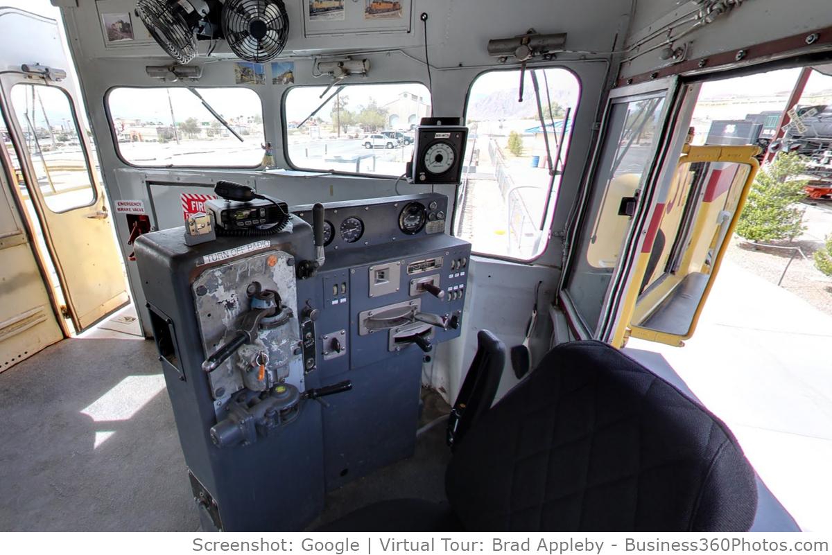 NV State Railroad Cab Virtual Tour in Boulder City, NV