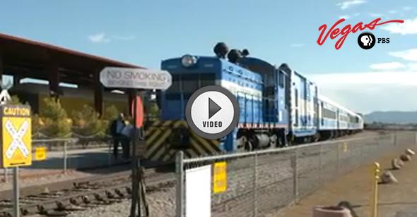 Outdoor Nevada - Nevada Southern Railway in Boulder City, Nevada