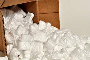Packing Peanuts Recycling in Boulder City, Nevada