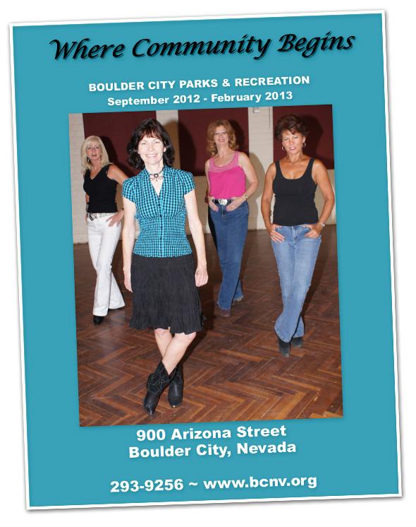 Parks & Rec Guide 2012-2013 in Boulder City, NV