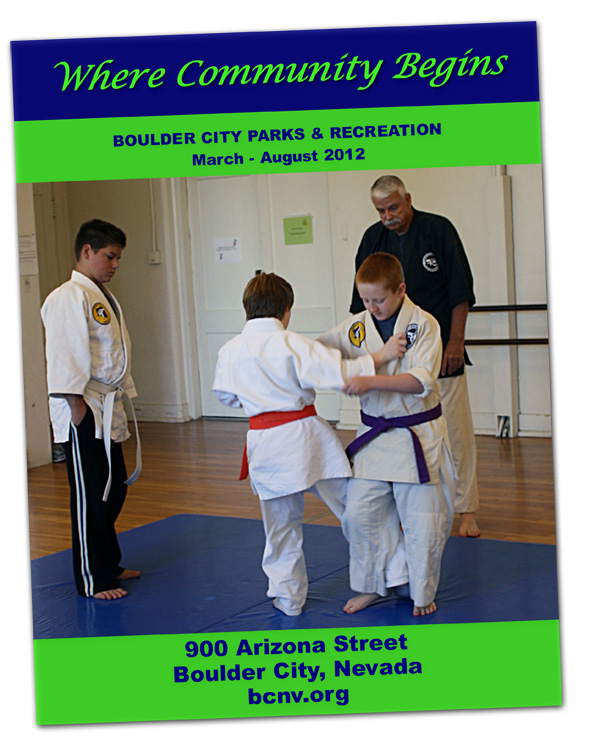 Parks and  Recreation Brochure for Boulder City Spring/Summer 2012