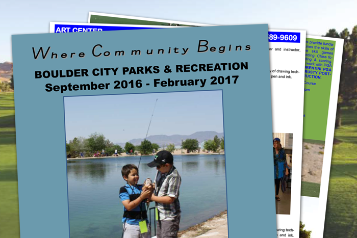 Boulder City Parks and Recreation Guide=Fall 2016