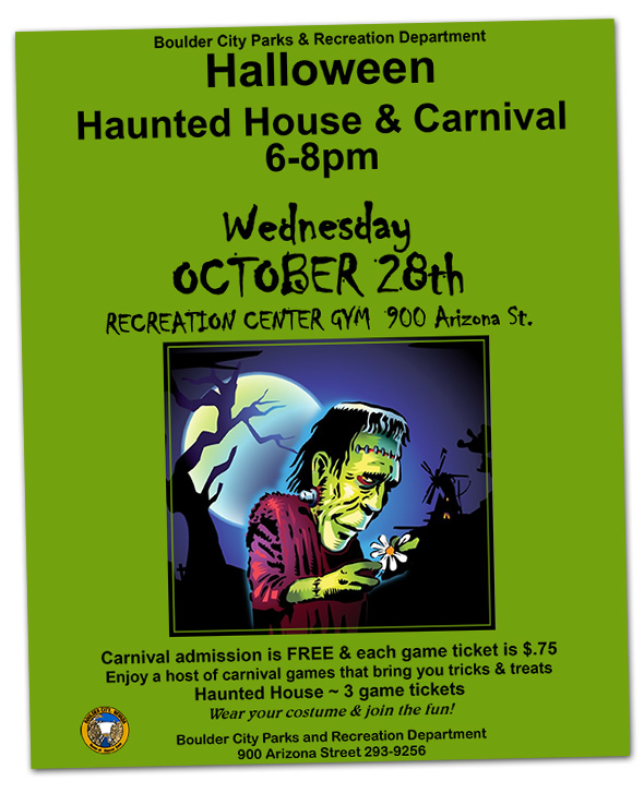 Boulder City, Nevada Parks and Recreation Department's Halloween Carnival