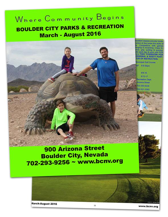 Boulder City, NV Parks & Recreation Guide Spring 2016