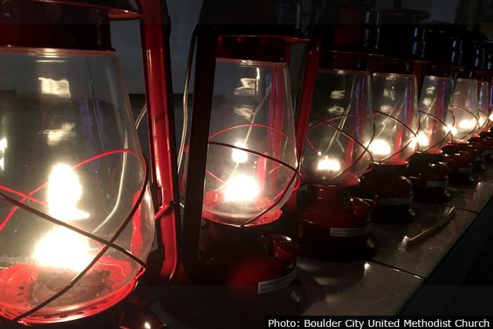 Peace Light in Boulder City, Nevada