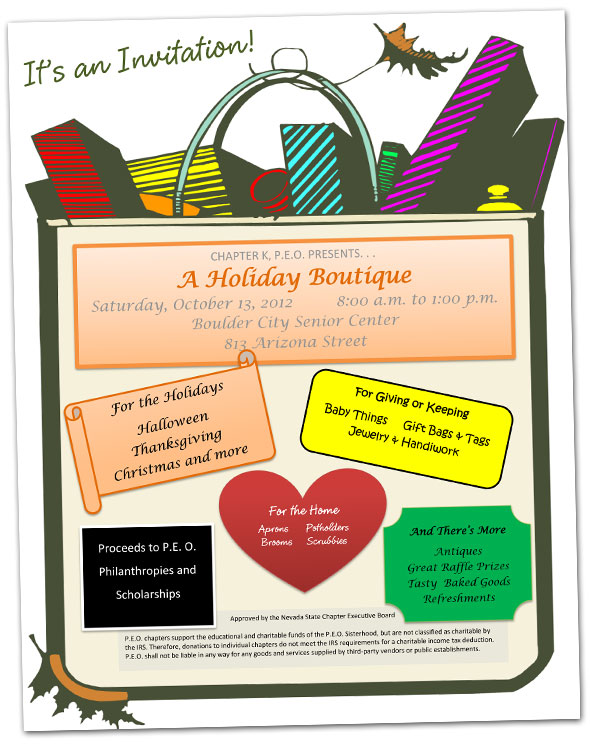 PEO Holiday Boutique in Boulder City, NV