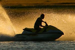Personal Watercraft at Lake Mead near Boulder City, Nevada