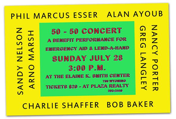 Phil Esser Concert in Boulder City, Nevada