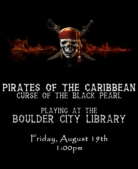 Pirates of the Caribbean Aug 2011