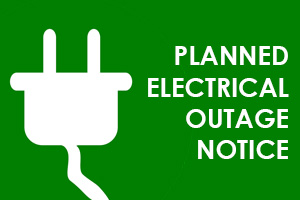 Planned Electrical Outage Notice in Boulder City, NV