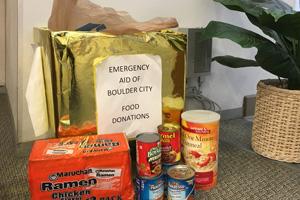 Plastic Bag Donations for Boulder City Emergency Aid