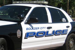 Boulder City Nevada Police Car