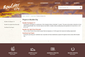 Projects In Boulder City, Nevada