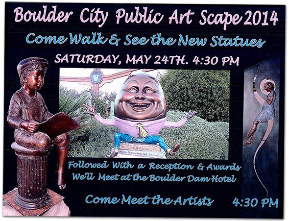 Public Artscape 2014 in Boulder City, NV