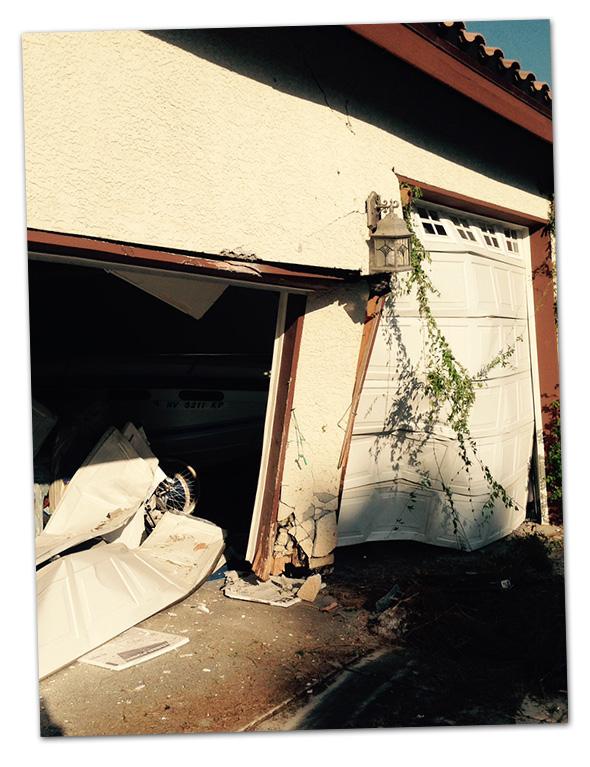 Pueblo Home and Car Collision in Boulder City, Nevada