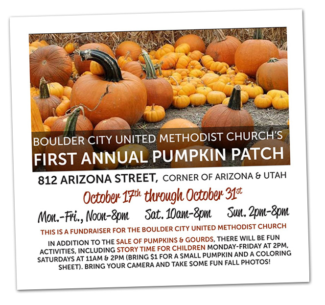 Pumpkin Patch in Boulder City, Nevada