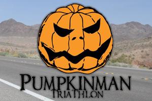 Pumpkinman Triathlon near Boulder City, Nevada