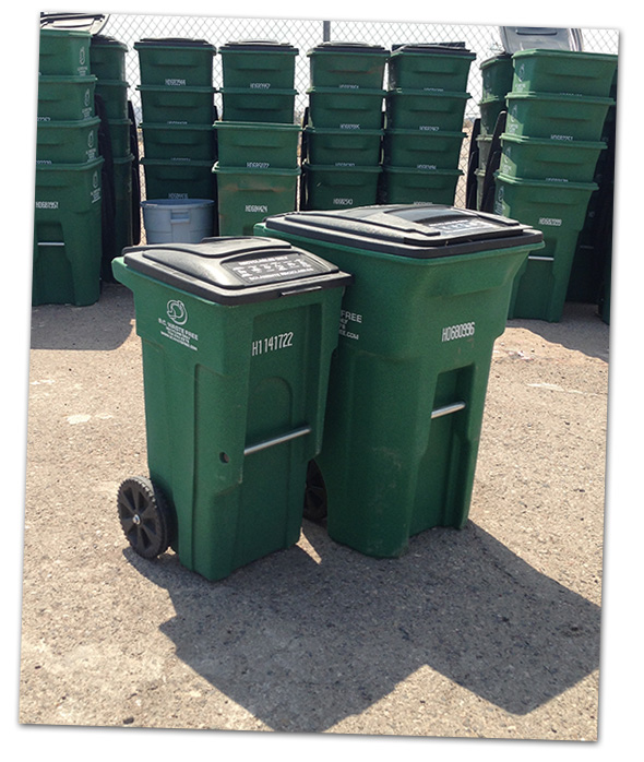 Recycle Bins in Boulder City, Nevada
