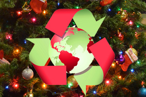 Recycle Christmas Trees from Boulder City, Nevada