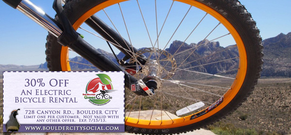 Red Mountain Green Cycle in Boulder City, Nevada