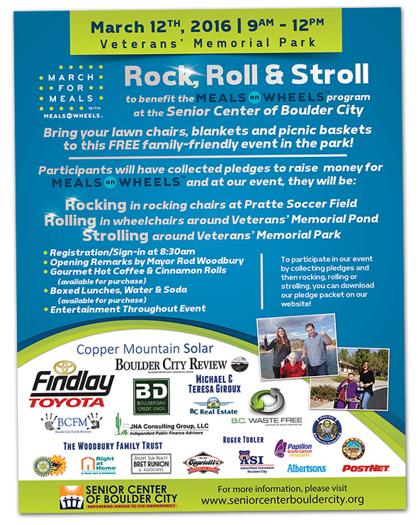 Rock, Roll and Stroll Event in Boulder City, Nevada