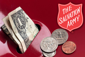 Salvation Army Kettle in Boulder City, NV