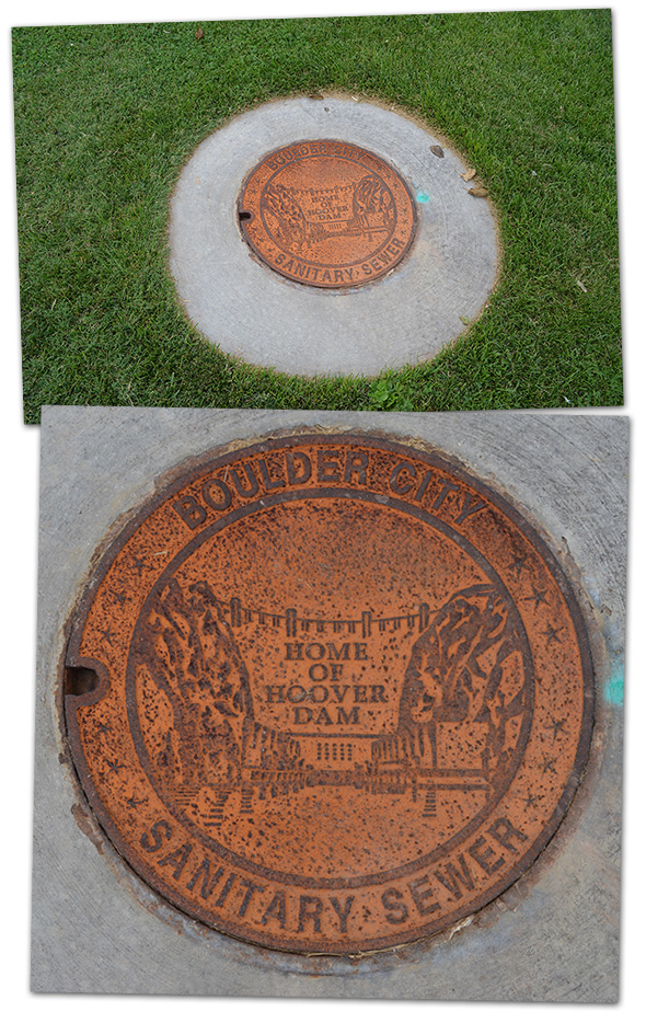 Sanitary Sewer Covers in Boulder City, Nevada