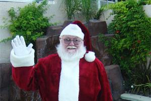 Santa Claus in Boulder City, NV