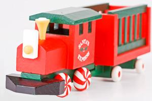 Santa Train in Boulder City, NV