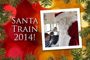 Santa Train in Boulder City, Nevada