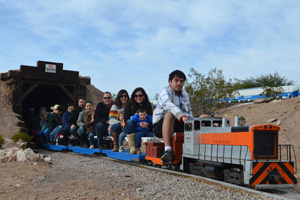 Scale Trains in Boulder City, Nevada