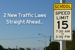 School Zone Sign in Boulder City, Nevada