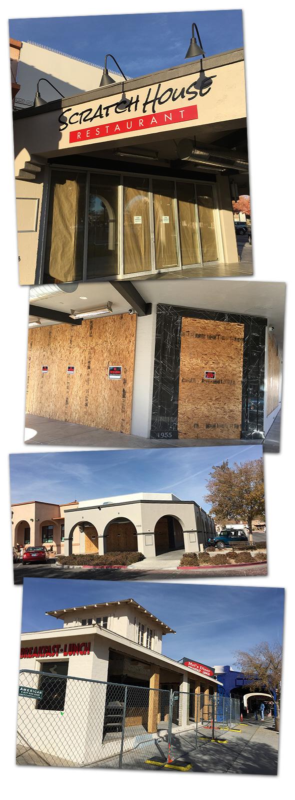Scratch House Closure in Boulder City, Nevada