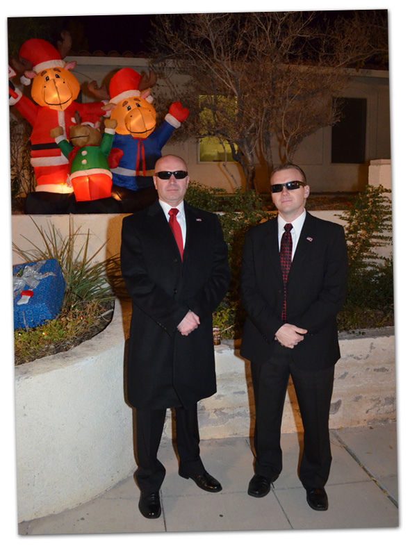Secret Service in Boulder City, NV 2012