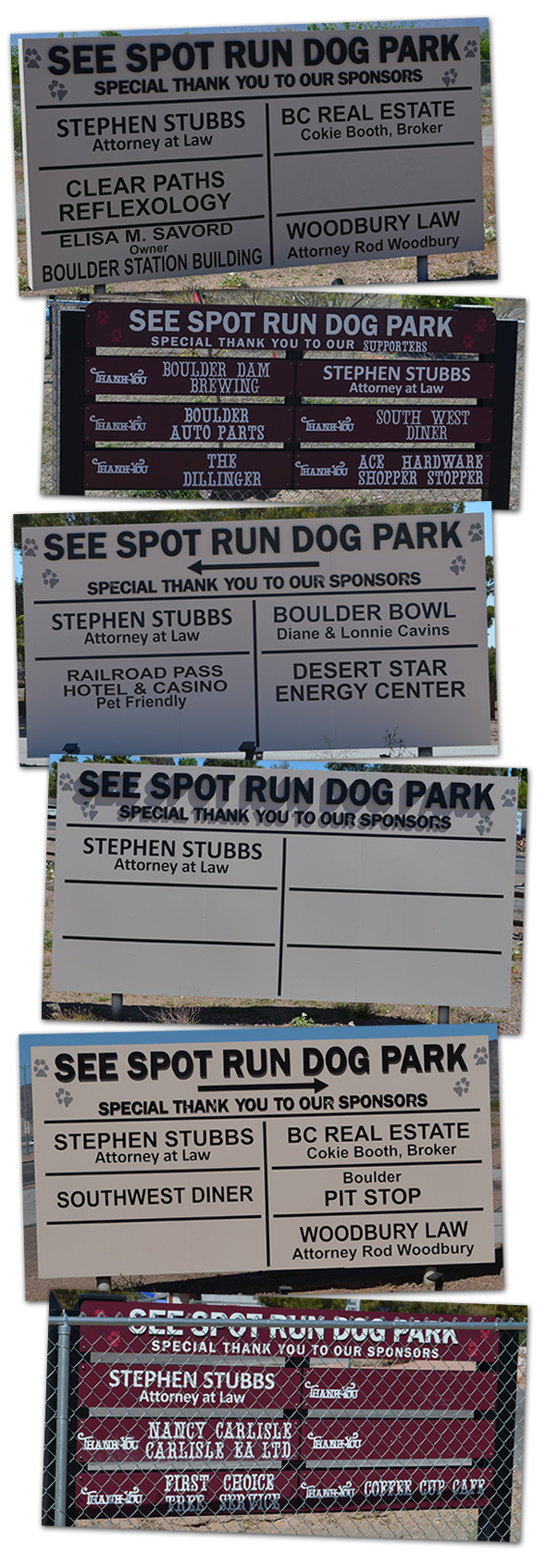 See Spot Run Supporters in Boulder City, Nevada