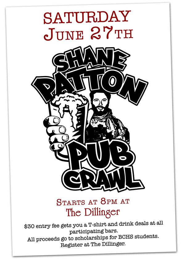 Shane Patton Pub Crawl 2015
