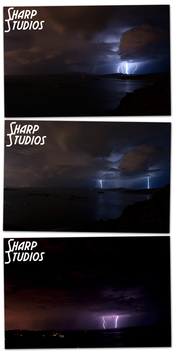 Sharp Studios Lightning 082112 in Boulder City, NV