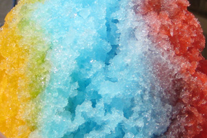 Shaved Ice in Boulder City, Nevada