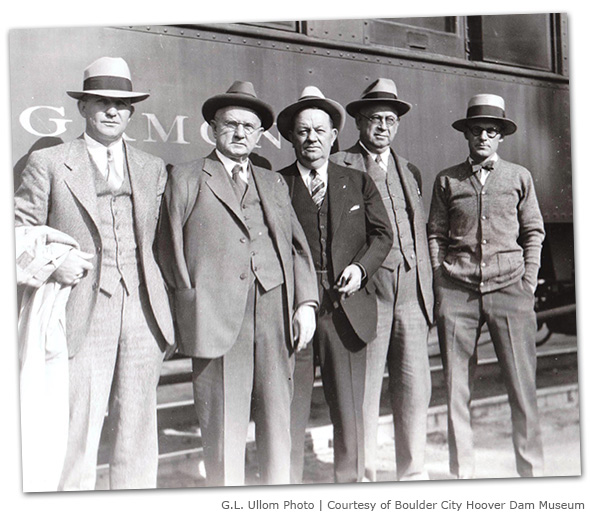Silver Spike Ceremony in Boulder City, Nevada - 1930