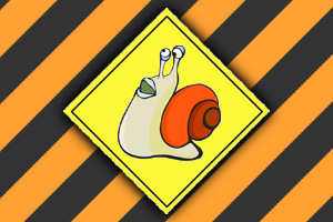 Snail Traffic Sign - Boulder City, NV