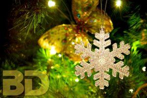 Snowflake Tree Ornament in Boulder City, Nevada
