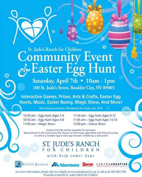 St Judes Easter Egg Hunt 2012