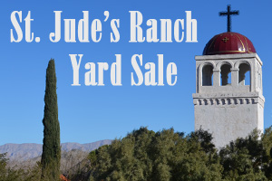 St Jude's Ranch in Boulder City, NV Yard Sale