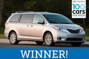 St. Jude's Ranch for Children Won A Toyota in Boulder City, Nevada