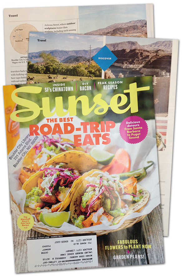 Sunset Magazine Article on Boulder City, Nevada