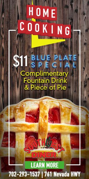 October Specials Southwest Diner Boulder City, NV