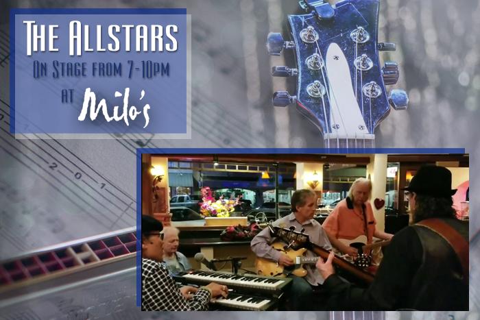 The All Stars At Milo's Boulder City, Nevada