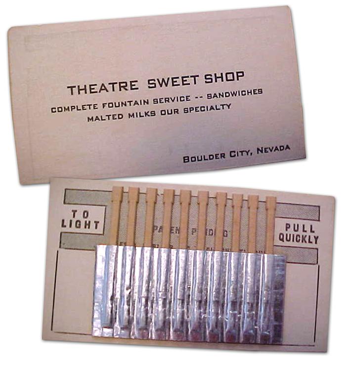 Theatre Sweet Shop in Boulder City, Nevada