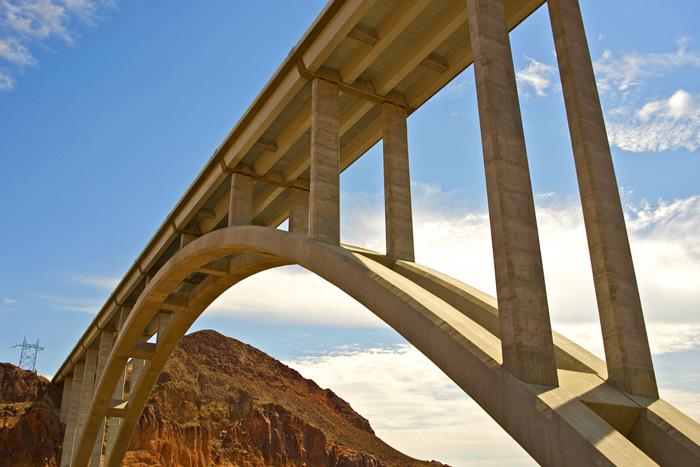 Tillman Memorial Bridge Near Boulder City, NV