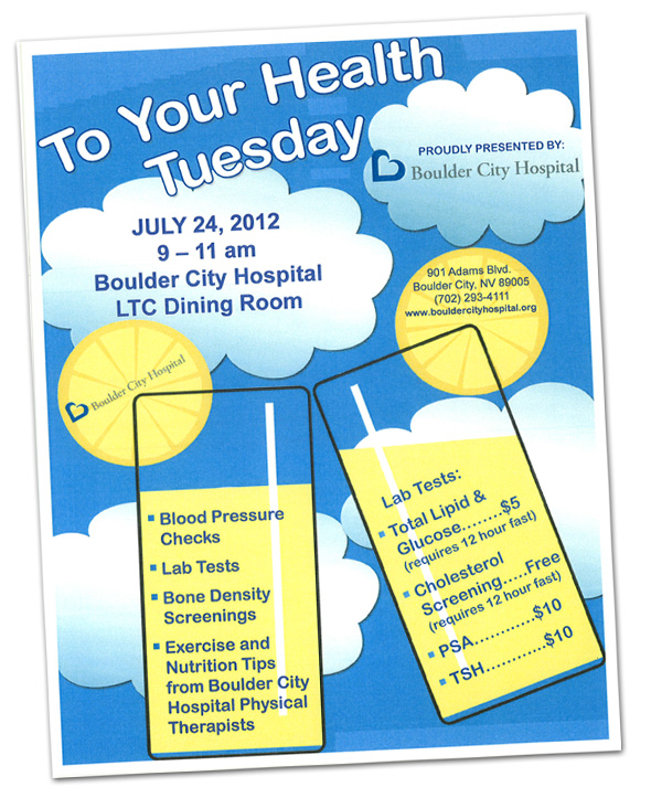 To Your Health 2012 at Boulder City Hospital